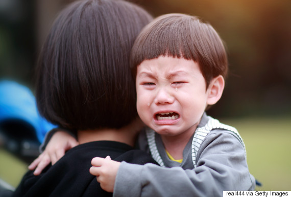asian crying baby