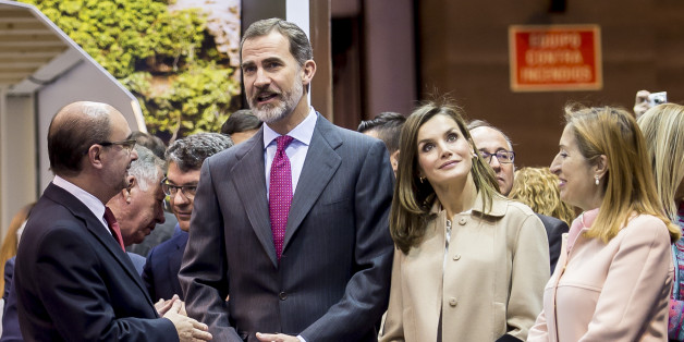 MADRID, SPAIN - JANUARY 17: Spanish Royals King Felipe VI of Spain and Queen Letizia of Spain Inugurate FITUR International Tourism Fair 2018 at Ifema on January 17, 2018 in Madrid. Prime Minister Mariano Rajoy confirmed that Spain became the second most visited country in the world last year, after France, with 82 million visits.  A year on year increase of 9%  making 2017 the fifth consecutive year of growth. Tourism earnings also grew 12% to 87 billion euros (104 billion US dollars) Spain. (P