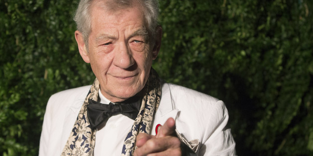British actor Ian McKellen attends the Evening Standard Theatre awards in London November 30, 2014. REUTERS/Neil Hall (BRITAIN - Tags: ENTERTAINMENT)