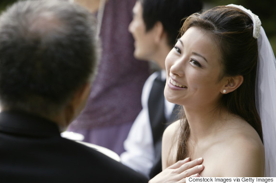asian bride father