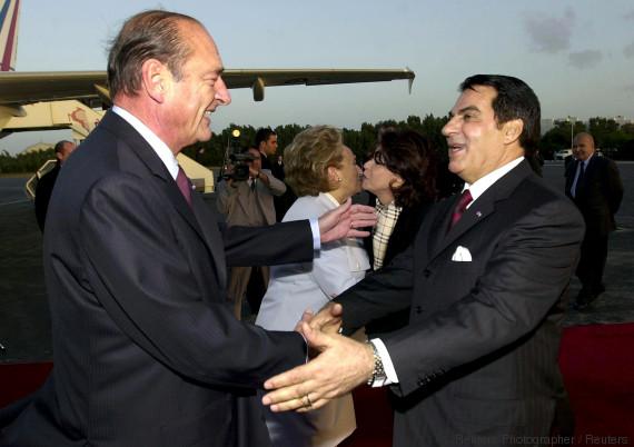 chirac tunisia