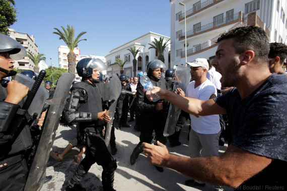 protest morocco al hoceima