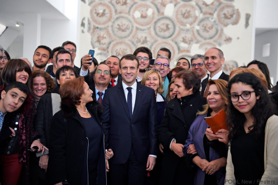 macron tunisia