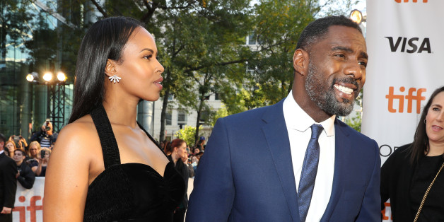 "Actor Idris Elba arrives with his girlfriend Sabrina Dhowre at the premiere of the film ""The Mountain Between Us"" at Toronto International Film Festival (TIFF) in Toronto Canada, September 10, 2017.    REUTERS/Fred Thornhill"