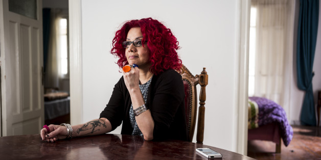 CAIRO, EGYPT - April 12:  Mona Eltahawy is an Egyptian author publishing a new book 'Headscarves and Hymens: Why the Middle East Needs a Sexual Revolution' photographed in her home on April 12, 2015 in  Cairo,  Egypt. (Photo by David Degner/Getty Images).
