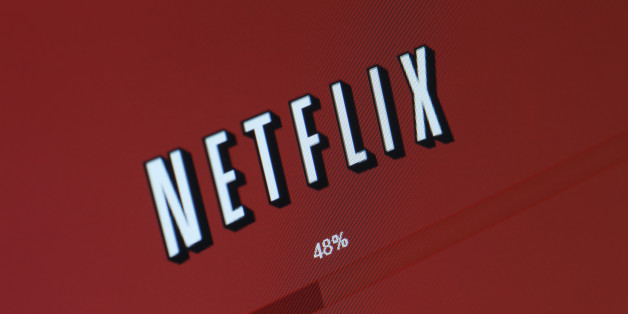 San Diego, California, USA - March 21, 2011: A closeup of a movie or TV show buffering on a computer through Netflix's 'Watch Instantly' service, which allows users to stream content directly to their computer or TV through the internet.