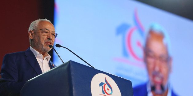 Rached Ghannouchi, leader of the Islamist Ennahda movement, speaks during the movement's  congress in Tunis, Tunisia May 20, 2016. Zoubeir Souissi