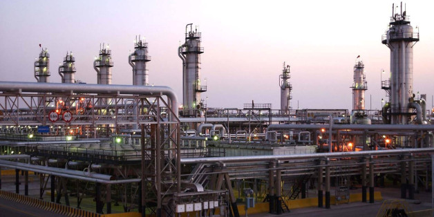 A view shows Saudi Aramco's Abqaiq oil facility in eastern Saudi Arabia in this undated handout photo. Saudi Aramco/Handout via REUTERS ATTENTION EDITORS - THIS PICTURE WAS PROVIDED BY A THIRD PARTY.