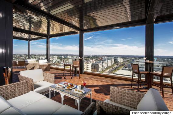 cedar sky lounge the view