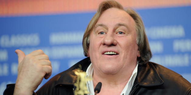 Actor Gerard Depardieu attends a new conference to promote the movie 'Saint Amour' at the 66th Berlinale International Film Festival in Berlin, Germany February 19, 2016.     REUTERS/Stefanie Loos