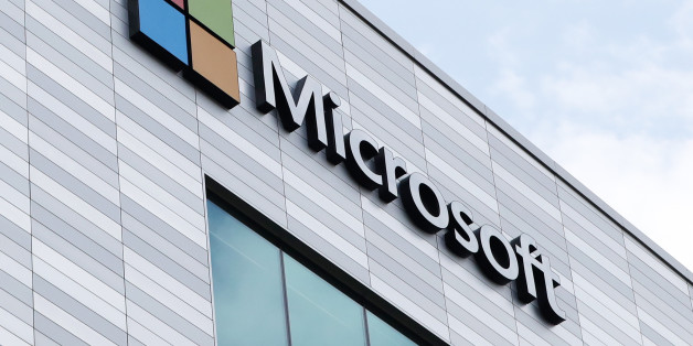 Microsoft's new offices at South County Business Park in Leopardstown, South Dublin. (Photo by Niall Carson/PA Images via Getty Images)