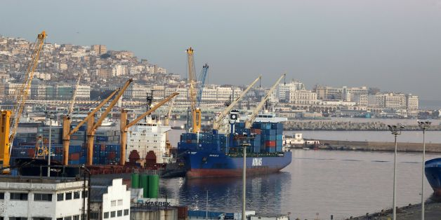 A general view shows the port of Algiers on December 6, 2017. / AFP PHOTO / LUDOVIC MARIN        (Photo credit should read LUDOVIC MARIN/AFP/Getty Images)