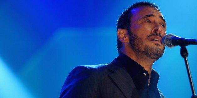 UNITED KINGDOM - MARCH 09:  Photo of Kazem AL SAHER; Kazem (Kadim) Al Sahir of(Iraq) plays at the Usher hall Edinburgh as part of the BBC Radio 3 world music Awards  (Photo by Ross Gilmore/Redferns)