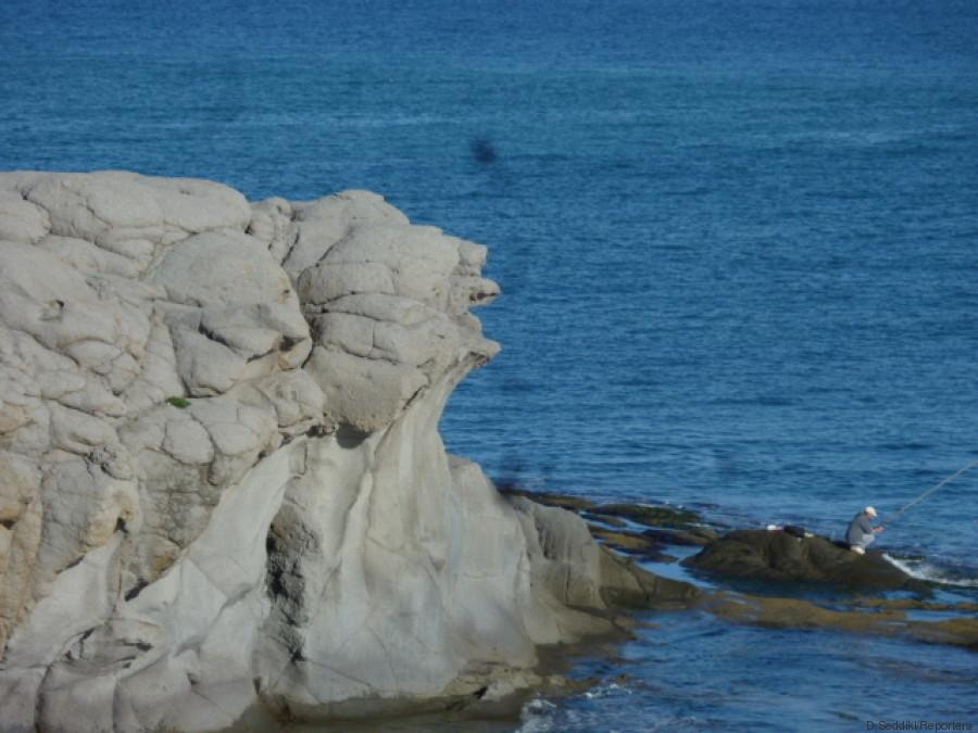 le grand rocher blanc