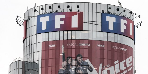 A picture taken on March 2nd, 2018 in Boulogne-Billancourt, a neighbouring suburb of Paris, shows a view of TF1 French TV group headquarters. TF1 also operates quite a few niche-channels and owns the Pan-European sports channel Eurosport and the news TV channel LCI. The direction of Canal+ stopped the distribution of the free channels of the group TF1, on Thursday, March 1st, for lack of reaching a trade agreement with the group. (Photo by Michel Stoupak/NurPhoto via Getty Images)