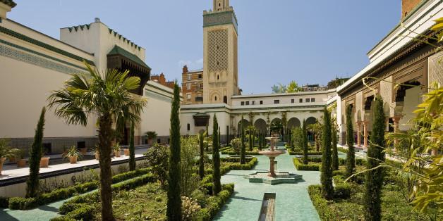 France, Paris, the Great Mosque of Paris