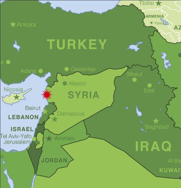 plane crash syria
