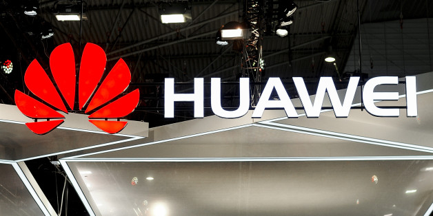 Huawei logo during the Mobile World Congress day 4, on March 1, 2018 in Barcelona, Spain.  (Photo by Joan Cros/NurPhoto via Getty Images)