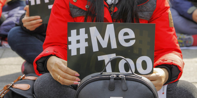 South Korea-South Korean Workers confederation Union Memebers held on 'Womens Larbor Day Event' at Gwanghwamoon Square in Seoul, South Korea on 8 March 2018. South Korea vowed on Thursday to strengthen laws against sexual assault and implement measures to reduce harassment as the #MeToo campaign sweeps the country and sparks calls for meaningful action to tackle sexual abuse. (Photo by Seung-il Ryu/NurPhoto via Getty Images)