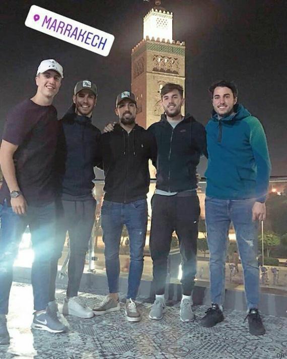 marco asensio borja mayoral marrakech