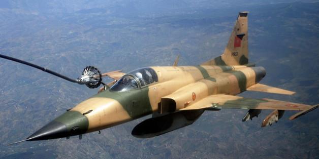 Un F-5 des Forces royales air
