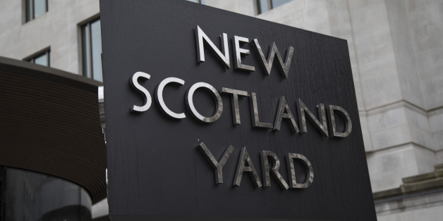 The Metropolitan Police's revolving sign their new headquarters at New Scotland Yard in Westminster, London. Scotland Yard (officially New Scotland Yard, though an Old Scotland Yard has never existed) is a metonym for the headquarters of the Metropolitan Police Service, the territorial police force responsible for policing most of London. The Metropolitan Police Service employs around 31,000 officers plus about 13,000 police staff and 2,600 Police Community Support Officers (PCSOs). The Met cove