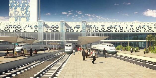 LGV: Dernière ligne droite avant la livraison des nouvelles gares de Casablanca et Rabat