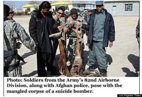 Afghanistan: de nouvelles photos illustrent les dérives de l'armée