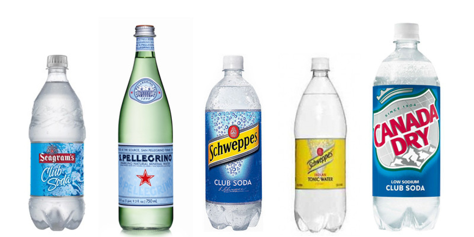 The Difference Between Club Soda Seltzer And Tonic Water