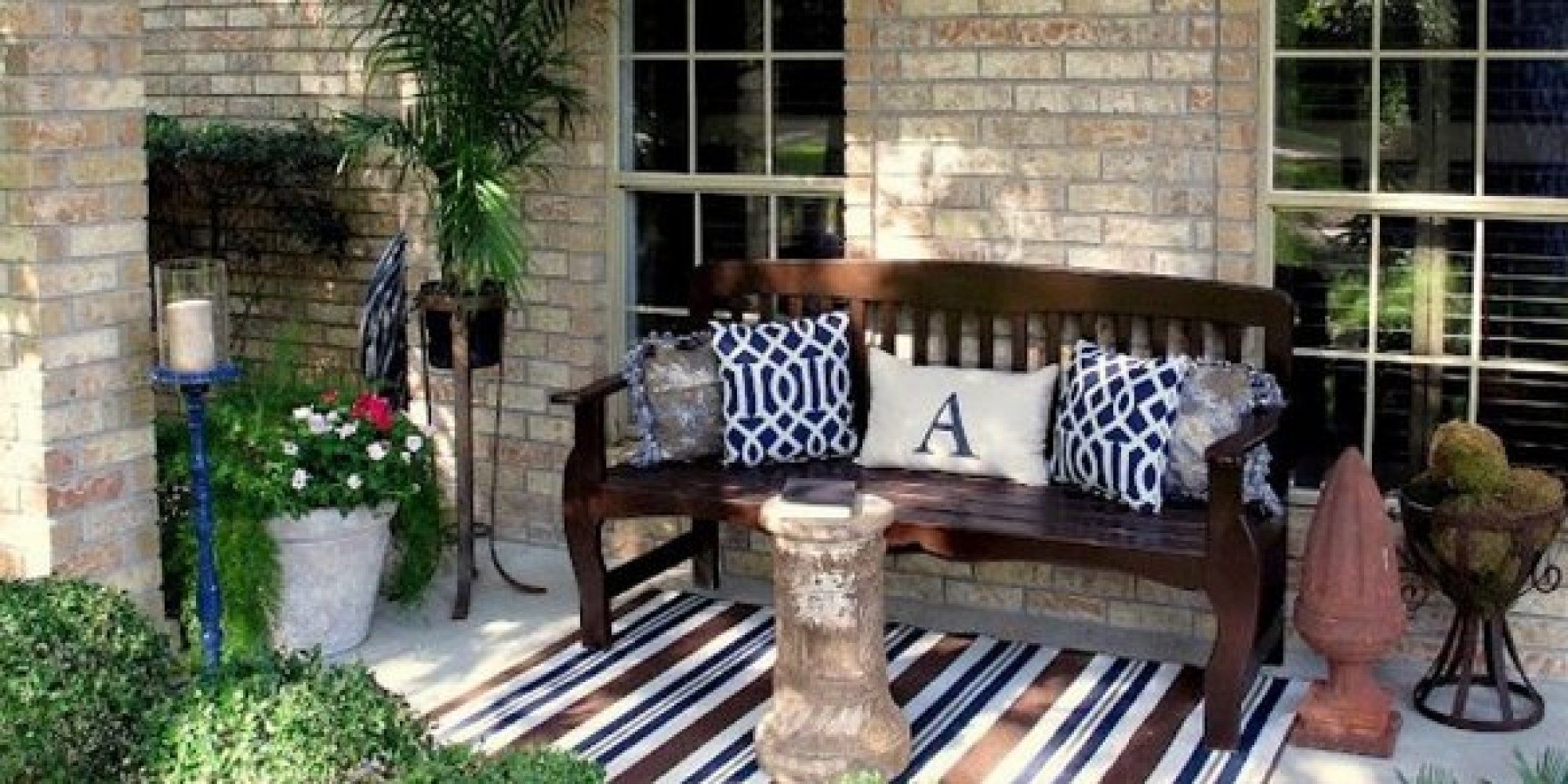 Outdoor Decor 14 Casual fy Front Porch Ideas