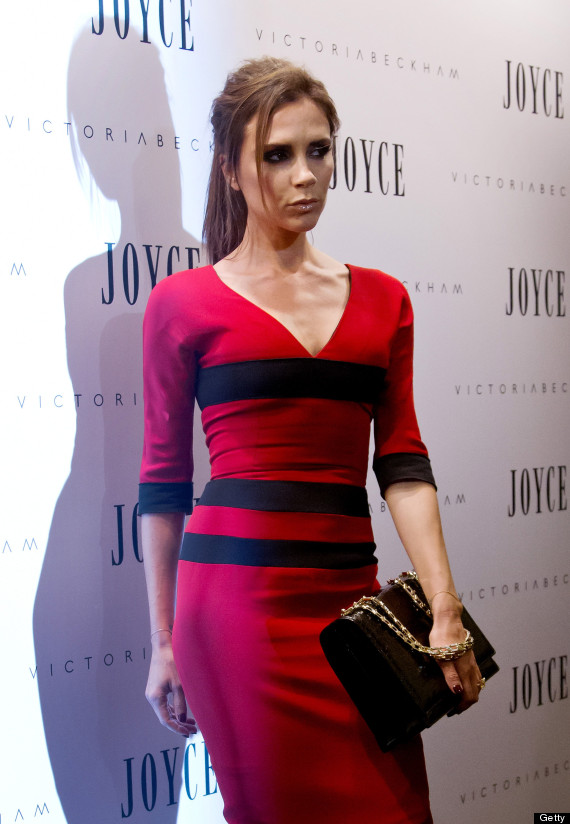 Victoria Beckham Gets A Fright As She Dines In Beijing