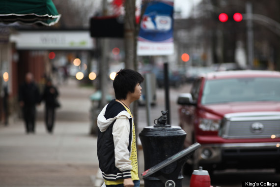 pei immigrant street scene