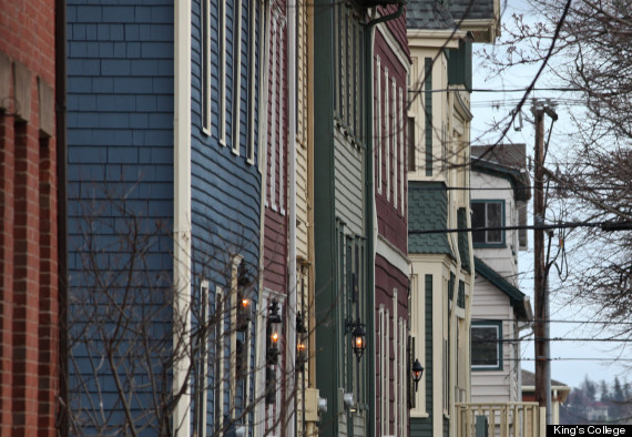 pei immigrant house fronts