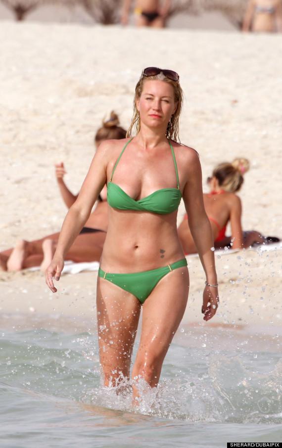 Denise Van Outen Shows Off Bikini Body As She Soaks Up -3838