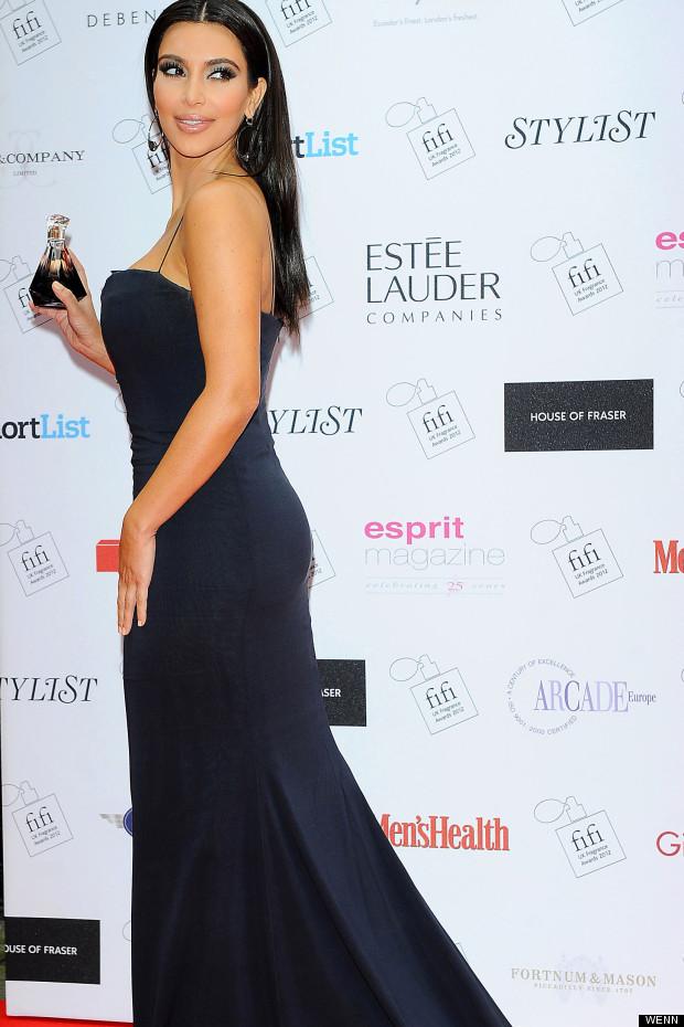 kim kardashian fifi awards