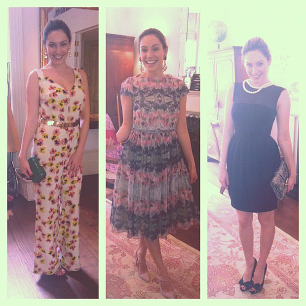 kelly brook cannes wardrobe