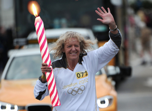 olympic candle