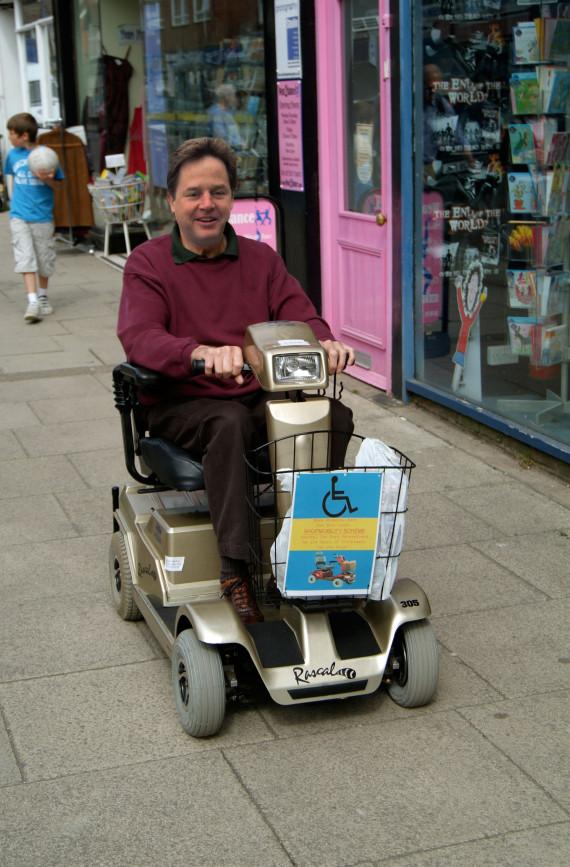 nick clegg mobility