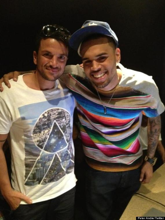 peter andre chris brown