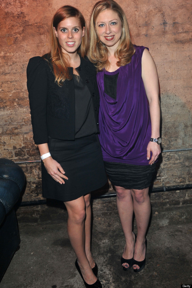 chelsea clinton and princess beatrice