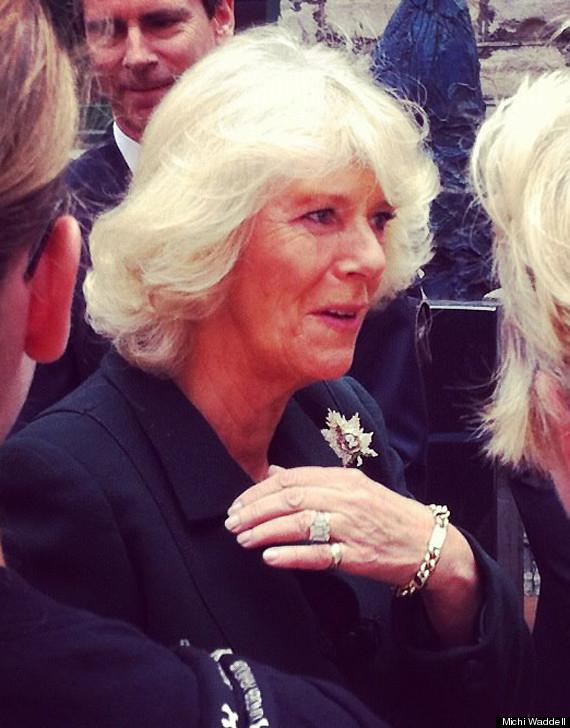 royal visit 2012 camilla bling