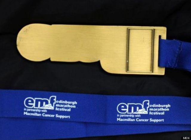 medal edinburgh marathon