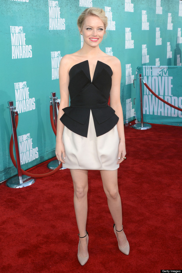 emma stone mtv movie awards