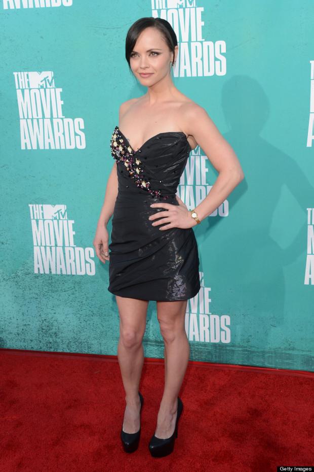 christina ricci mtv movie awards 2012