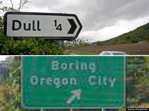dull boring town oregon
