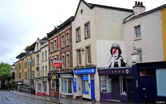 banksy queen street