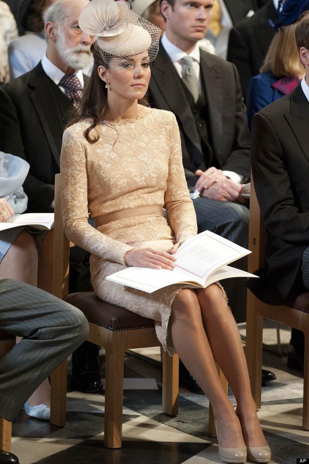 duchess of cambridge jubilee service