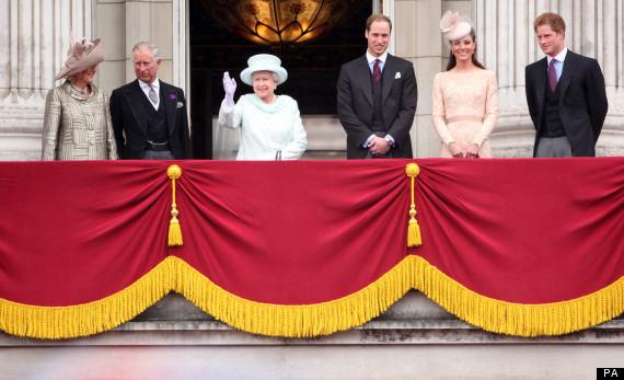the queen balcony