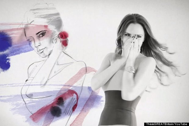victoria beckham great britain