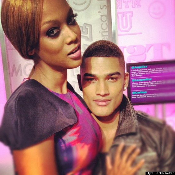 Tyra Banks 'Dating 24-Year-Old Brit Model Rob Evans